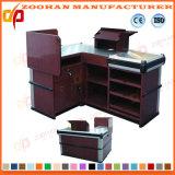 Supermarkt-System-Prüfungs-Kostenzähler-Bargeld-Schreibtisch-Tisch (ZHc52)