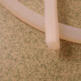 Diverses formes résistantes à la chaleur l'extrusion de bandelettes de caoutchouc de silicone
