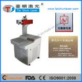 Máquina de la marca del laser de la fibra para la placa de identificación, reloj, haciendo publicidad de la placa
