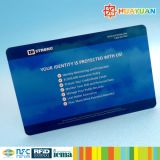 American Hotsale Anti-hack customizado PVC RFID Blocker Card