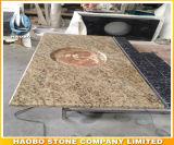 Fábrica Direta Tiger Skin Yellow Granite Countertops