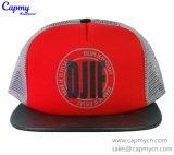 Шлем сетки Brim Leathe Печатание Логосом