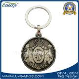 Liga de zinco personalizado Chaveiro de metal para venda