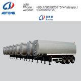 45000L de leche de acero inoxidable semi remolque cisterna de transporte para la venta