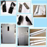 Timbrando le parti di metallo del fornello di gas (H24)