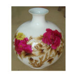 Vase antique en porcelaine antique chinoise Lw537