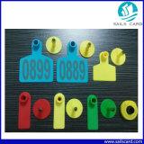 De kleurrijke Markering van het Oor van de Markering RFID van het Oor Dierlijke voor het Dierlijke Volgen