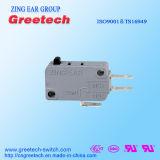 Elektrischer Schalter, der Niederspannungs-Mikroschalter für Elektronik-Geräte herstellt