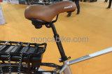 Moteur avant sans frottoir électrique élégant de Madame E Scooter 250W de vélo d'E-Bicyclette urbaine puissante blanche