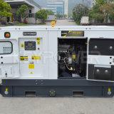 Quatre cylindres Alimentation de secours de type silencieux 55kVA Groupe électrogène silencieux quatre cylindres
