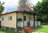 Прекрасным дизайном и легких стальных структуры дом (KXD-670)