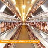 デザイン養鶏場のための電池によって電流を通される層の鶏のケージ