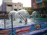 Aufblasbares Swimmingpool-Wasser-gehende Kugel