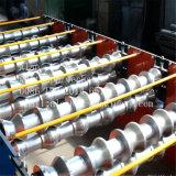 テンシンのカラー材料のための工場によって艶をかけられるタイル機械