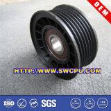 Rolo plástico personalizado peça de automóvel da polia da roda do CNC