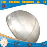 Obturer le raccord du tuyau en acier inoxydable plat tête hémisphérique de fin
