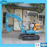 販売のクローラー掘削機のための1800kg移動タイプ小型掘削機