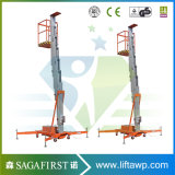 8m Hydraulic Top spin Mobile Aerial Construction Truck Mounted Equipment Face lift