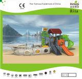Das crianças pequenas do navio de pirata de Kaiqi campo de jogos temático (KQ9095A)