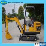 850kg販売1.2ton 1.6tonの小型クローラー掘削機のための小型農場の坑夫