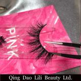 Прокладка типа 3D лилии плетки прокладки Lilibeauty русская хлещет реальные выдвижения ложной ресницы норки 3D
