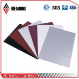 Ideabond PE 코팅에 의하여 솔질되는 Exture 알루미늄 위원회 합성 위원회 (AE-32B)