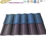 Matériau de construction abordables Sand-Coated métal de couleur les tuiles de couverture