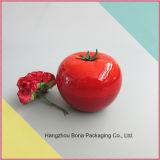 Série cosmética do frasco da forma por atacado do tomate da fruta de Packagingempty do cuidado de pele