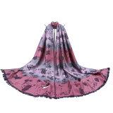 Sjaal van de Vlinder van vrouwen de Geweven Lange Stijl
