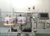 5개 갤런 물통 페인트 깡통을%s 가득 차있는 자동적인 레테르를 붙이는 기계