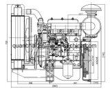 Goede die Kwaliteit 3 Cyliners 1500rpm en 1800rpm Dieselmotoren voor Generator worden gebruikt