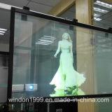 Film transparent projecteur holographique pour vitrine