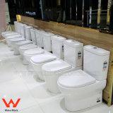 Gli articoli sanitari 2057 della stanza da bagno standard dell'Australia si raddoppiano toletta di ceramica a due pezzi di Washdown a livello
