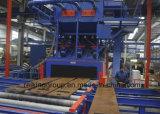 Serie máquina del acero de la sección de H y de la limpieza del tiro de Atructure