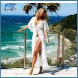 Nuovo Swimwear chiffon di Kaftan di occultamento del vestito dalla spiaggia di Boho