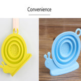 Custom Snail Funny Shape Eco-Friendly Silicone Tea Filter / Strainer