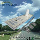 80W de luz de calle solar integrada con 3 años de garantía