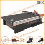 Máquina de estaca de vibração da parte superior de sapatas da faca da estrela excelente com sistema deAlimentação 2516