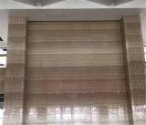 Lastra di legno di cristallo calda del marmo del grano del materiale da costruzione