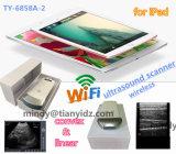 Scanner de ultra-som do iPad, iPhone scanner de ultra-som através da ligação WiFi