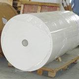 50GSMは乾燥したジャンボロール1.6mの幅ロール昇華転写紙サテンの/Polyester絹のファブリックのための絶食する