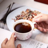 Té de la taza de té del juego de la taza de café y taza de cerámica del agua