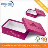 주문 서류상 여자 구두 상자 마분지 선물 포장 상자 (AZ010526)