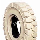 Prix bon marché chariot élévateur à fourche pneu solide 355/65-15