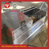 Peladora de patatas de acero inoxidable y pelando la máquina
