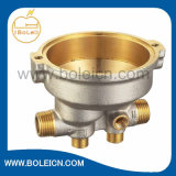ODM de cobre amarillo forjado de calefacción del OEM de la cubierta de la bomba de la agua en circulación disponible