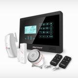 Het slimme Systeem van het Alarm van de Veiligheid van het Huis van de Inbreker van het Scherm van de Aanraking van de Apparaten van het Huis met het Alarm van de Stamper