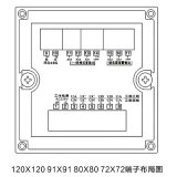 JP204U-9K4 지적인 삼상 전압 미터