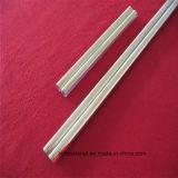 La pureza Gold-Plated doble tubo de cuarzo