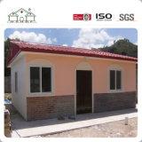 Villa de lujo casa prefabricada de paneles sándwich de la casa prefabricados